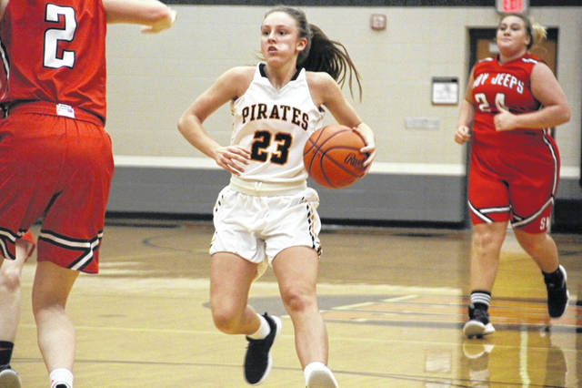 Wheelersburg's Kaylee Darnell scored 13 points and grabbed eight rebounds in Thursday's 35-25 win over South Webster.