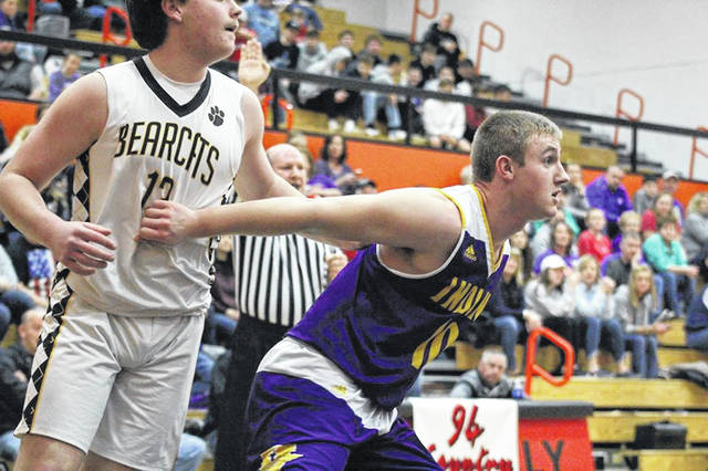 Valley's Tyler Mitchell scored 16 points in Monday's 58-44 win over Paint Valley in a Division III sectional semifinal.