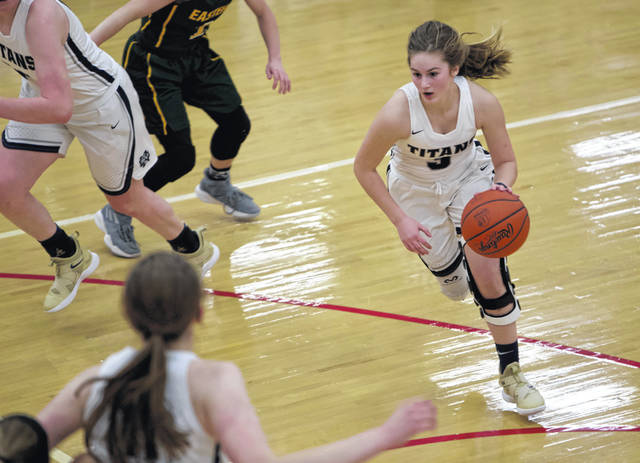 Notre Dame point guard Ava Hassel is averaging 11.1 points per game, second-most on the team. She'll be heavily counted on to produce in Thursday's Division IV regional semifinal against Peebles.