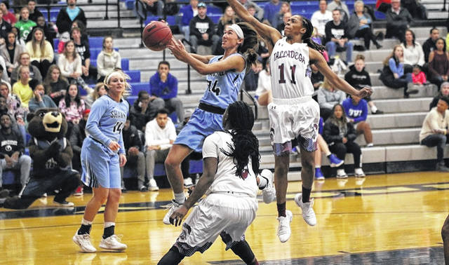 Shawnee State junior Bailey Cummins led the Bears in scoring Monday afternoon with a team high 15 points.