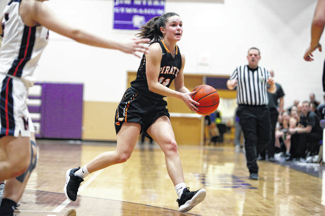 Wheelersburg senior Abbie Kallner scored a game-high 20 points in Wednesday's 56-55 win over Morgan.