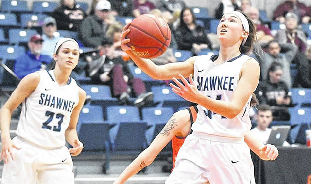 Shawnee State junior Bailey Cummins scored 22 points against Georgetown to help lift the Bears to their fifth straight MSC championship game.