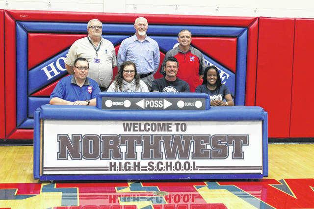 Northwest senior Destiny Ruth signed her letter of intent to play collegiate soccer at Shawnee State University at a signing ceremony held at Northwest High School.