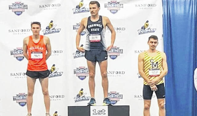 Shawnee State's Seth Farmer cemented his name in Bears' athletics history with his individual national championship win in Brookings, South Dakota.