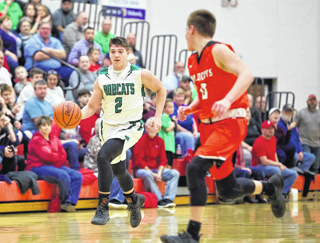 Green junior Gage Sampson was named first team all-Southeast District in Division IV by media members covering the Southeast District for the 2018-19 season.