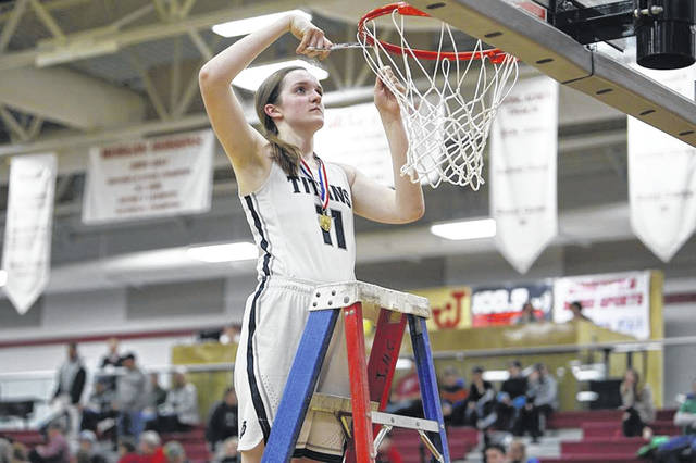 Notre Dame senior Katie Dettwiller was named first team all-state in Division IV by the Ohio Prep Sportswriters Association.
