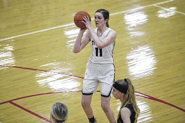 Notre Dame senior Katie Dettwiller was named Division IV player of the year in the Southeast District honors released early on Friday.