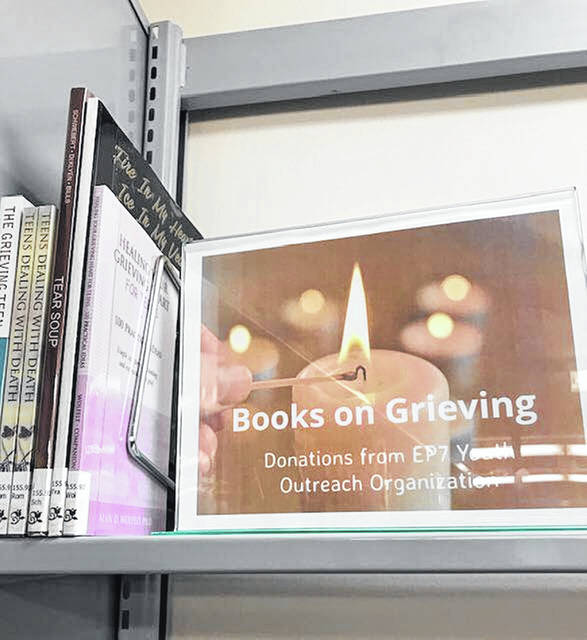 Newly established section on grieving at the Wheelersburg Branch of PPL.