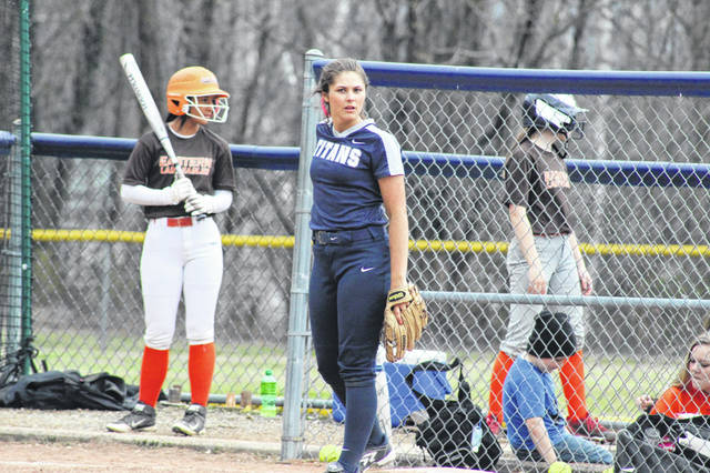 Notre Dame junior Cassie Schaefer hit two home runs and seven RBI in the Titans win over Jackson Tuesday.