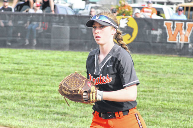 Wheelersburg was seeded as a number one seed in the Division III softball sectional seedings announced Sunday by the Southeast District Athletic Board.