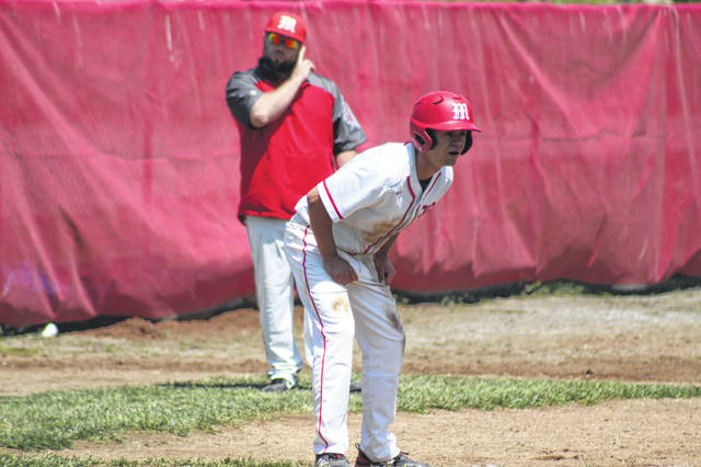 Minford's Darius Jordan scored on a sac fly from teammate Ethan Lauder in the bottom of the third inning.