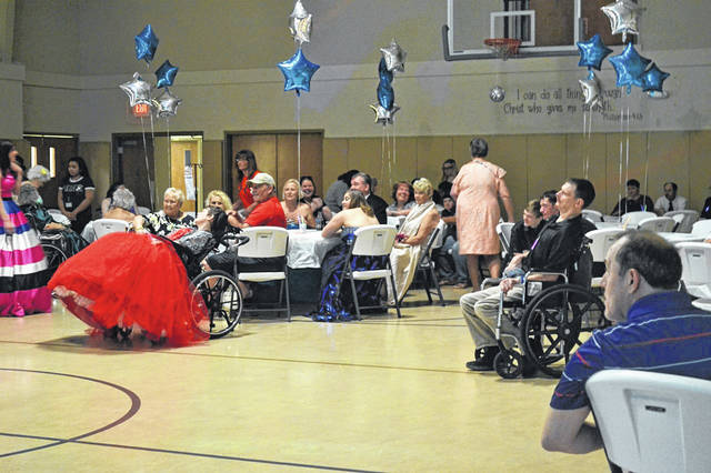 Guests enjoy last year's Jesus Prom