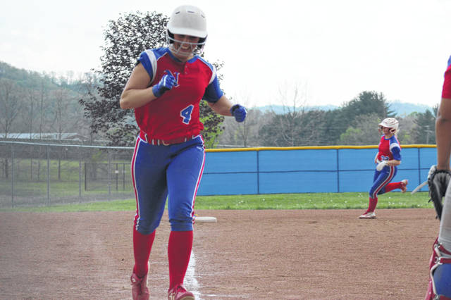Northwest senior captain Laiken Rice scored the game winning run in Tuesday's walk off win against Portsmouth.