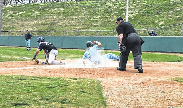 Shawnee State's baseball team swept Lindsey Wilson over the weekend, the program's first conference sweep in five years.