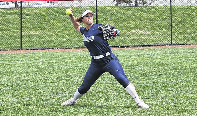 Shawnee State softball swept KCU Wednesday in Portsmouh to impvrove to 20-15 on the year