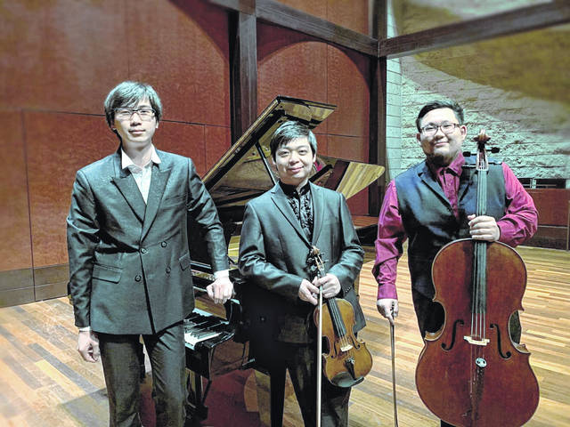 Schumann's trios to perform at Southern Ohio Museum.