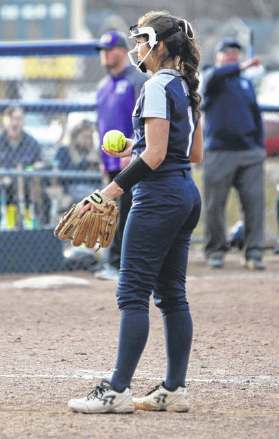Notre Dame's Cassie Schaefer was a second-team All-Ohio honoree during her sophomore year. She's started her junior season with 47 strikeouts in 36 innings pitched.