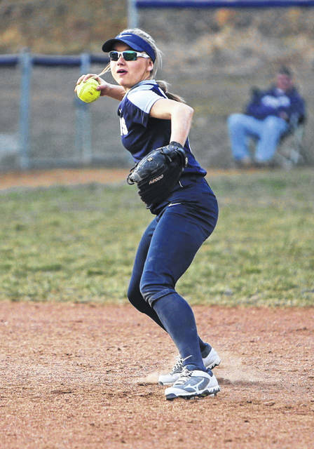 Notre Dame's Taylor Schmidt has heavily aided the Titans in their 9-0 start this season.