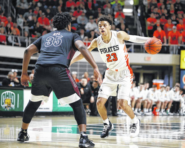 Wheelersburg senior Tanner Holden was named the OHSBCA Player of the Year in Division III in boys' basketball.