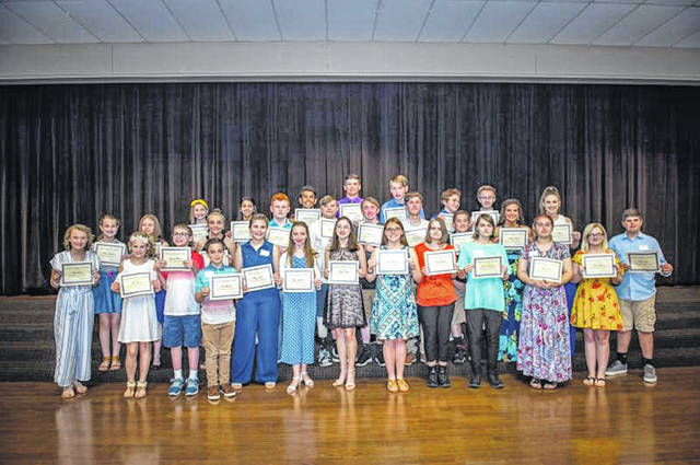 Forty students were awarded ESC Summer Enrichment Scholarships, which will pay either all or part of their summer enrichment tuition costs, during a special reception on May 8.