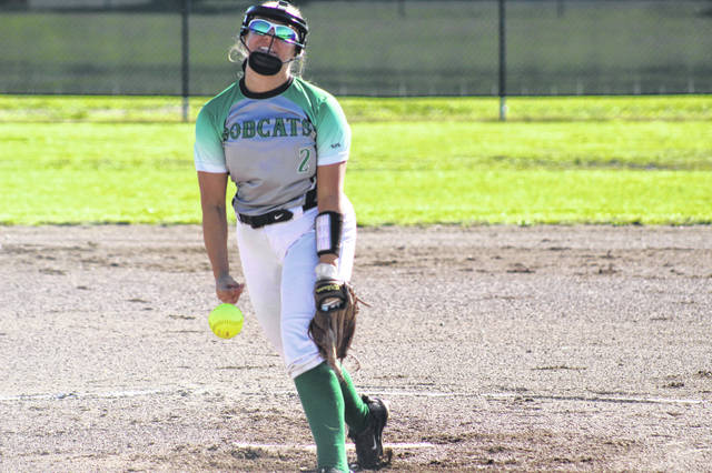 Green sophomore Ava Jenkins allowed just four hits and struck out eleven Western batters in the Bobcats win over the Indians Monday night.