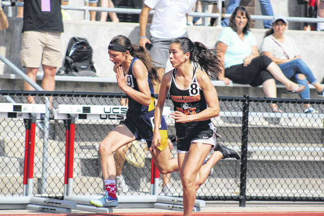 Wheelersburg senior Libby Miller qualified for Saturday's Division III 100 meter dash finals with a time of 12.76 seconds.