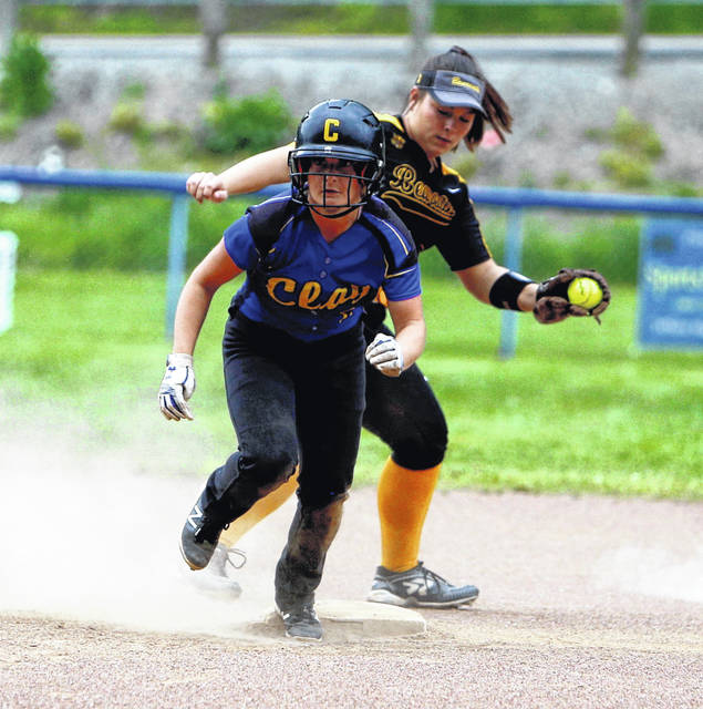 Clay senior Shaelyn Vassar finished 4/5 at the plate with a run and two RBI in the Panthers sectional final loss to Paint Valley.
