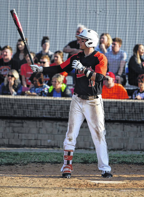 Wheelersburg senior Jalen Miller was named SOC II player of the year for the 2019 baseball season.