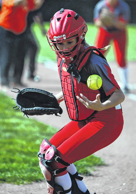 Blevins helped the Minford Falcons reach a 17-9 record during her sophomore season in 2019.