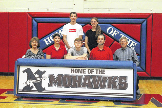 Northwest graduate Chase McClay signed his letter of intent Wednesday to join the University of Rio Grande's track team next season.