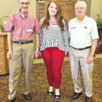 The Scioto County Retired Teachers' Association presented scholarships