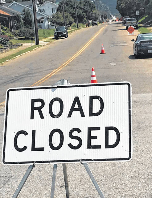 Coles Boulevard Remains Closed As Sinkhole Repairs Continue Portsmouth Daily Times