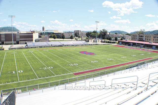 Trojan Coliseum, located in downtown Portsmouth, will be the home of Thursday night's opening game of the high school football season in Scioto County between Valley and Portsmouth.