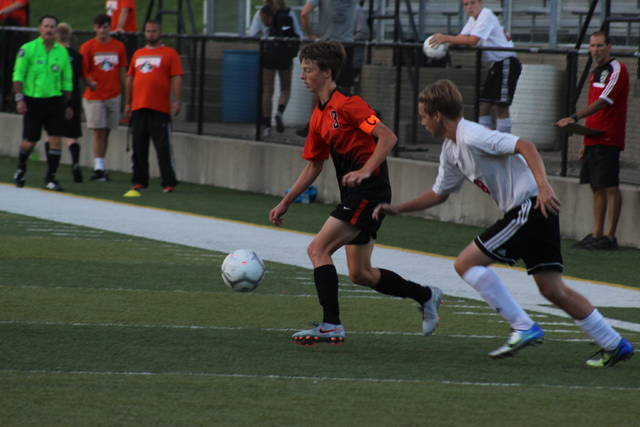 Wheelersburg junior Aaron Jolly scored two goals in the Pirates home win over South Webster Tuesday night.