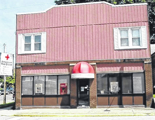 The Local American Red Cross's former office on 1801 Robinson Avenue, Portsmouth.