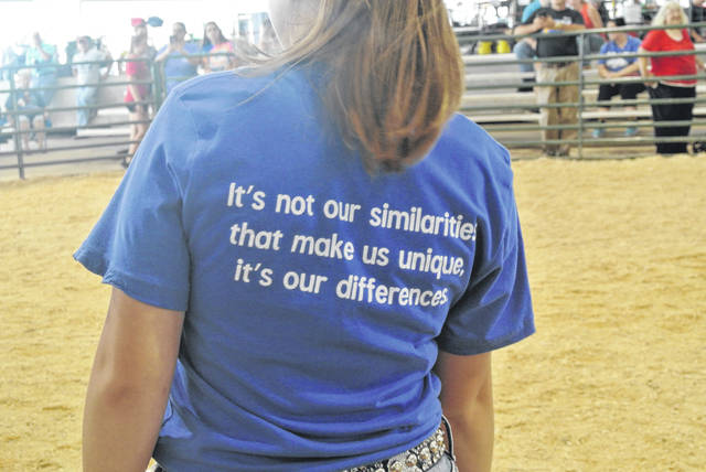 Each volunteer, and some participants wore 2019 All in the Ring T-Shirts.