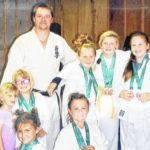Local karate students qualify for Irish Cup
