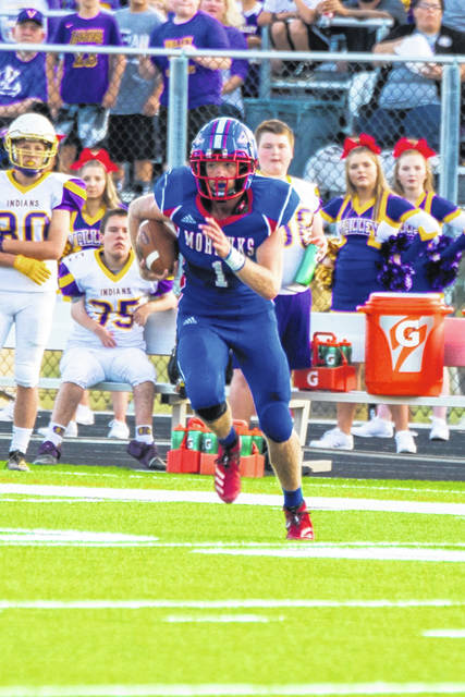 Northwest senior Billy Crabtree finished with 59 rushing yards on 12 carries in Northwest's overtime loss to Valley Friday.