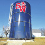 South Webster receives new water tank
