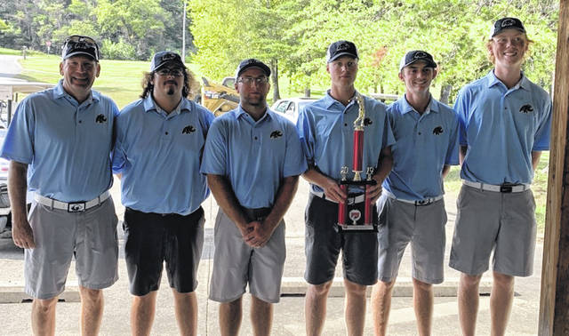 The Shawnee State mens' golf team finished second of eight teams in the KCU Invitational Saturday and Sunday in Grayson.