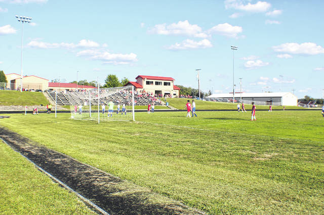 Minford's soccer complex located near Minford Middle School is the home for the Falcons boys and girls junior high school affiliated soccer programs.