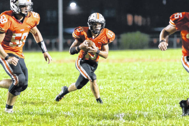 West senior running back William Journey rushed for 196 yards in the Senators week one win against KIPP Columbus last Friday.