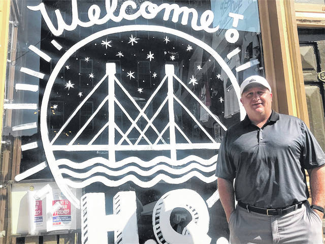 Formerly with the local Red Cross, Bryan Smith became assistant director of the Friends of Portsmouth early this month. Among other duties, Smith now runs the group's downtown HQ.