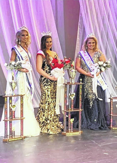2019 Miss River Days' Queen and Court (left to right) Alexis Graf, Miss Notre Dame 1st Runner-up, Addison Smith, Miss South Webster, Queen and Rachael Cline, Miss Green 2nd Runner up.