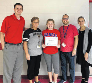 Phipps is volunteer of the month