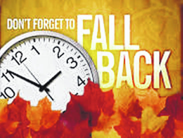 Sunday, November 3, 2019 at 2:00 a.m. - Set your clocks back an hour.