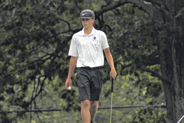 Wheelersburg junior Trevin Mault was named to the Division II first team all-district list for his play for the Pirates during the 2019 golf season.