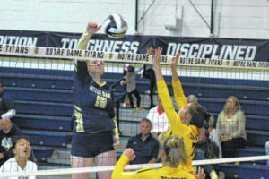 Titans claim seventh straight sectional title over Paint Valley
