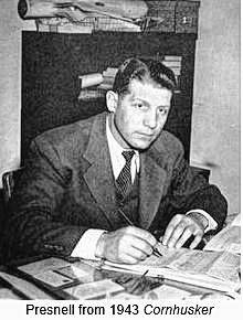 Presnell as he appeared during his time as a coach and athletic director for the Nebraska Cornhuskers.