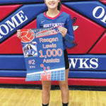 Lewis records 1,000th assist